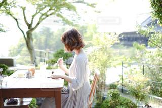 カフェの写真・画像素材[3243958]