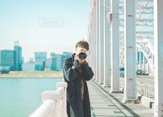 青と君の写真・画像素材[3383118]