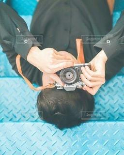 カメラポーズの写真・画像素材[3383125]