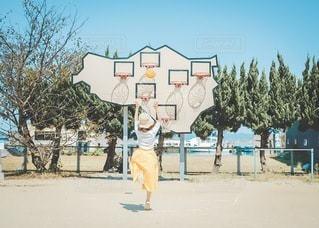 バスケの写真・画像素材[3438167]