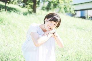 笑顔の写真・画像素材[3438181]