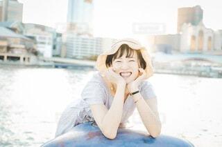 笑顔の写真・画像素材[3617549]
