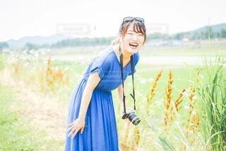 笑顔まんかいの写真・画像素材[3617598]