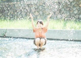 川遊びの写真・画像素材[3633615]