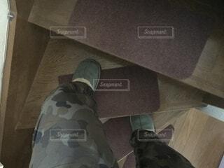 足階段を上るの写真・画像素材[4214430]