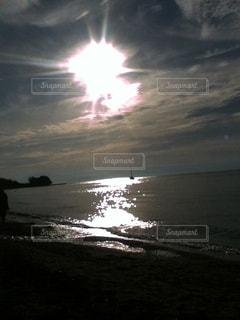 自然,風景,空,湖,太陽,雲,水面,日光,反射