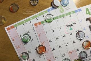 カレンダーと予定の写真・画像素材[3059785]