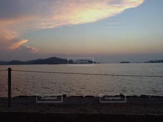 海の夕暮れの写真・画像素材[3394429]