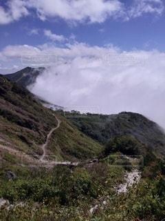 自然,風景,空,雲,山,丘,雲海,高原,ハイキング,フォトジェニック
