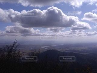 自然,風景,空,雲,川,山,樹木,ハイキング,新潟,眺め,弥彦神社