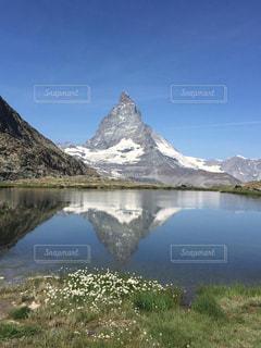 自然,空,湖,山,スイス