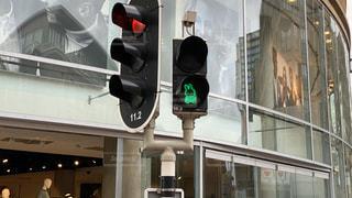 標識,信号,オランダ,交通,青信号,ユトレヒト,ミッフィー,トラフィック ライト,ミッフィー信号,ナインチェ