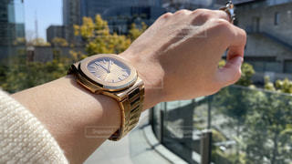 腕時計,時計,景色,腕,パテックフィリップ,ノーチラス,綺麗な腕