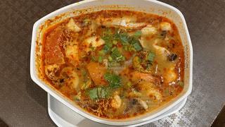 食べ物,スープ,旅行,料理,タイ,東南アジア,エビ,海外旅行,バンコク,トムヤムクン,フードコート,サイアム,サイアムパラゴン,世界三大スープ,パラゴン