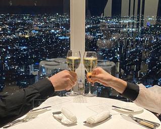 飲み物,夜景,人物,イベント,ワイン,グラス,レストラン,カクテル,乾杯,ドリンク,パーティー,手元
