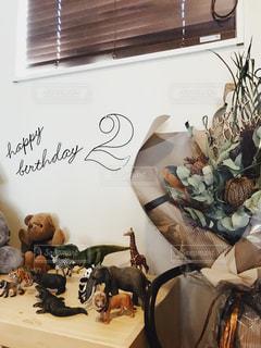動物,ドライフラワー,誕生日,パーティー
