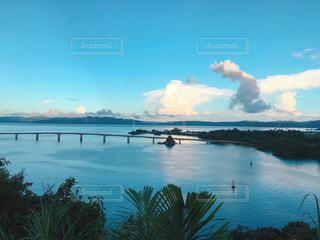自然,海,空,雲,水面,沖縄