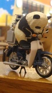 パンダ,オートバイ,ホイール