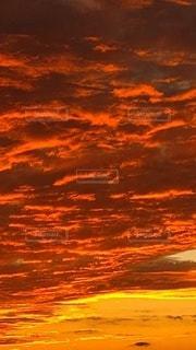 夕焼け,オレンジ,燃える