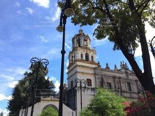 空,屋外,教会,メキシコ