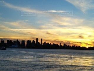 自然,風景,海,空,夕暮れ,海岸,旅行,カナダ