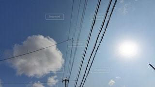 空,屋外,太陽,電線,空気,景観,高い,ライン,クラウド