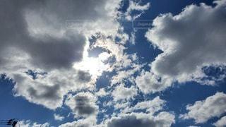 自然,空,屋外,太陽,雲,青,快晴,空気,高い,日中