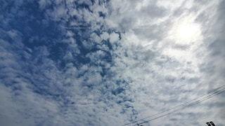 自然,空,雪,屋外,太陽,雲,快晴,くもり,クラウド,鱗雲