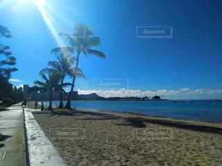 風景,海,空,屋外,ビーチ,海岸,ハワイ,Hawaii,日中