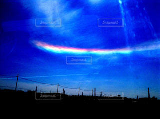 空,虹,景色,クラウド