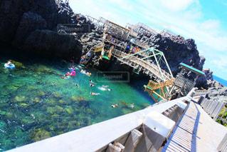 神津島のビーチの写真・画像素材[3148338]