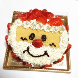 サンタケーキの写真・画像素材[3203289]