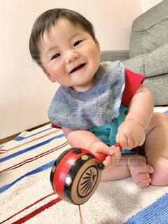 笑顔の男の子の写真・画像素材[3219557]