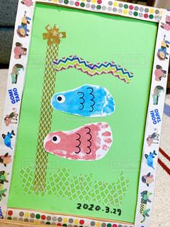 子ども,アート,ペン,こいのぼり,鯉のぼり,赤ちゃん,手作り,マスキングテープ,クラフト,マステ,紙,足型,おえかき,制作,テキスト,鯉,製作,おうち時間