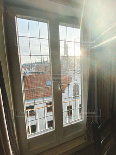街並み,窓,日光,ヨーロッパ,ベルギー,ブリュッセル