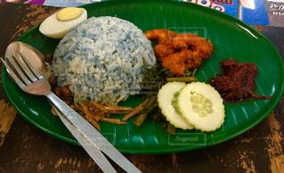 青,ご飯,マレーシア,東南アジア,美味しい,伝統,珍しい,安い,Malaysia,Melaka,ナシレマ,和发茶餐室