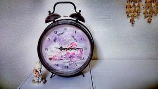 屋内,時計,壁,愛,時代,娘