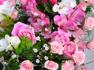 花束のクローズアップの写真・画像素材[3094185]
