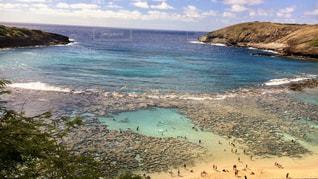 自然,風景,海,空,屋外,湖,砂,ビーチ,島,水面,海岸,山,旅行,ハワイ,シュノーケリング,日中,ライン,クラウド,ベイ