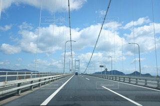 風景,空,橋,雲,道路,観光,高速道路,道,旅行,しまなみ海道,ドライブ,愛媛,国内旅行,レンタカー旅