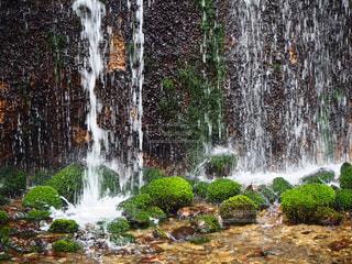 自然,風景,水面,滝