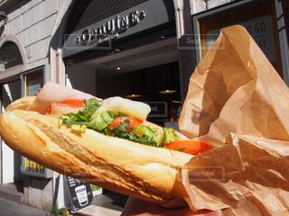 食べ物,ローマ,パン,昼食,サンドイッチ,イタリア,食べ歩き
