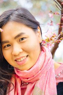 女性,風景,花,桜,景色,少女,お花見,人,顔,目,さくら,桜満開