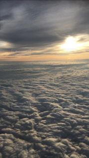 雲の上の写真・画像素材[3079208]