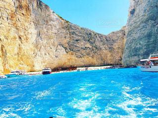 自然,海,夏,ビーチ,ボート,青,旅行,ギリシャ,ハネムーン,新婚旅行,紅の豚,ザキントス島,ナヴァイオビーチ,シップレック