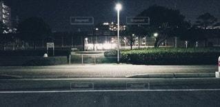夜,屋外,道路,寂しい,終わらないでほしい
