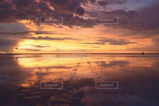夕日,海外,海外旅行,ウユニ塩湖,鏡ばり