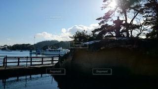 風景,海,空,屋外,松島