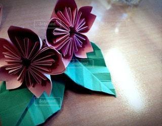 花,桜,屋内,アート,手作り,折り紙,クラフト,さくら