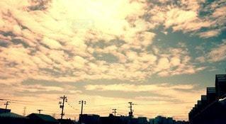 風景,空,屋外,雲,夕暮れ,都会,明るい